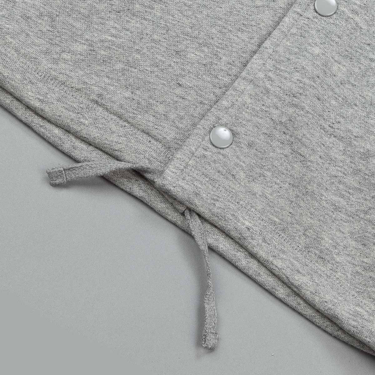 HUF Fleece Coach Jacket - Grey Heather