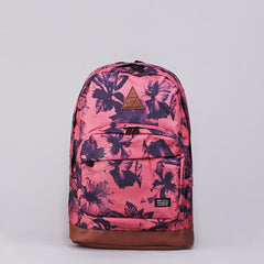 Huf Floral Backpack Salmon