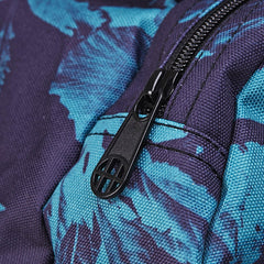 HUF Floral Duffle Bag Navy