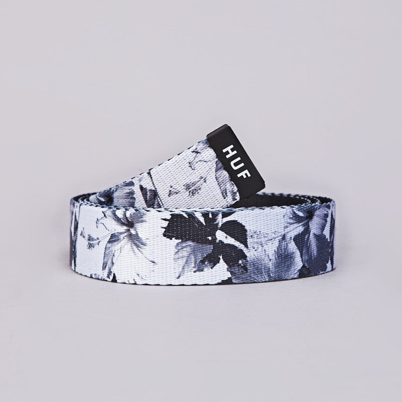 HUF Floral Scout Belt Black