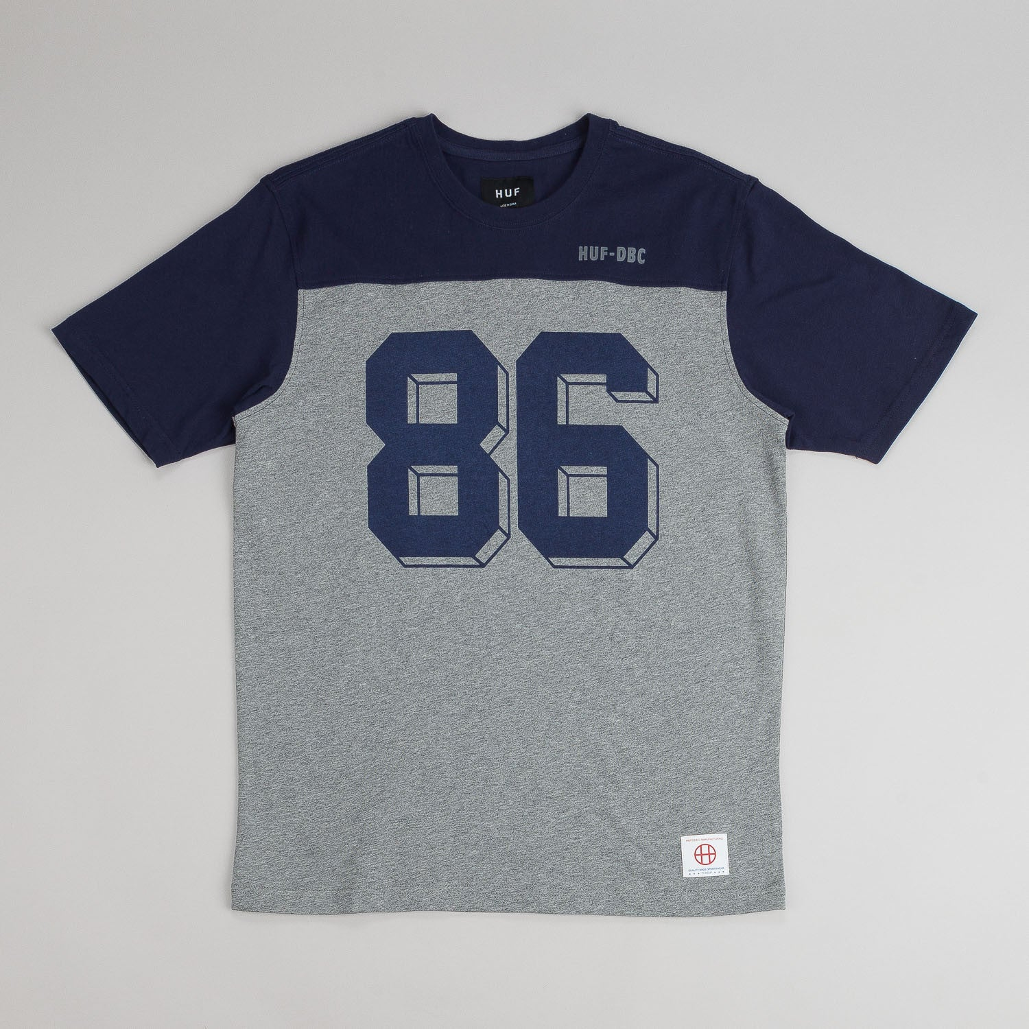 Huf Franco Short Sleeve Football Jersey