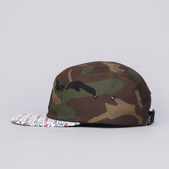HUF Fuck It 5 Panel Volley Cap Camo