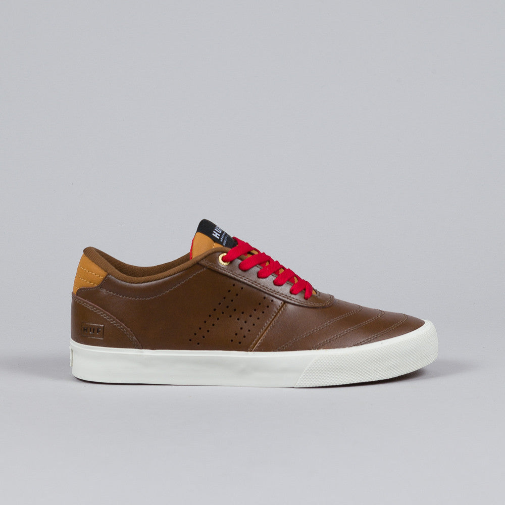 Huf Galaxy Dark Brown / Leather Brown