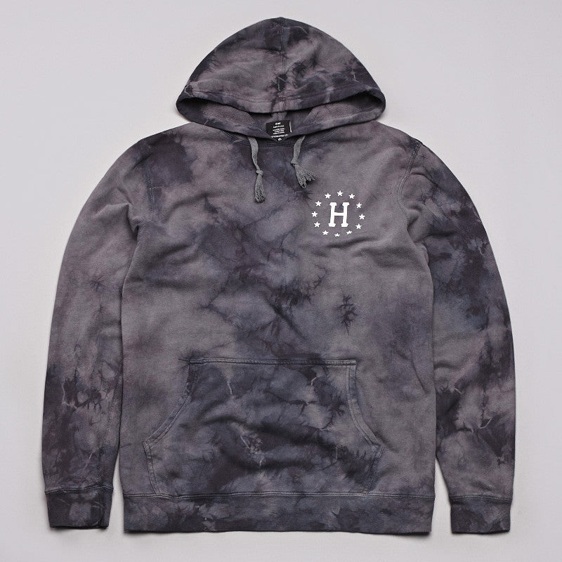 Huf 12 Galaxy Hooded Sweatshirt Black / Tonal