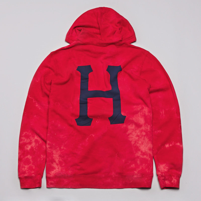 HUF 12 Galaxy Hooded Sweatshirt Salmon