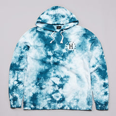 HUF 12 Galaxy Hooded Sweatshirt White / Jade