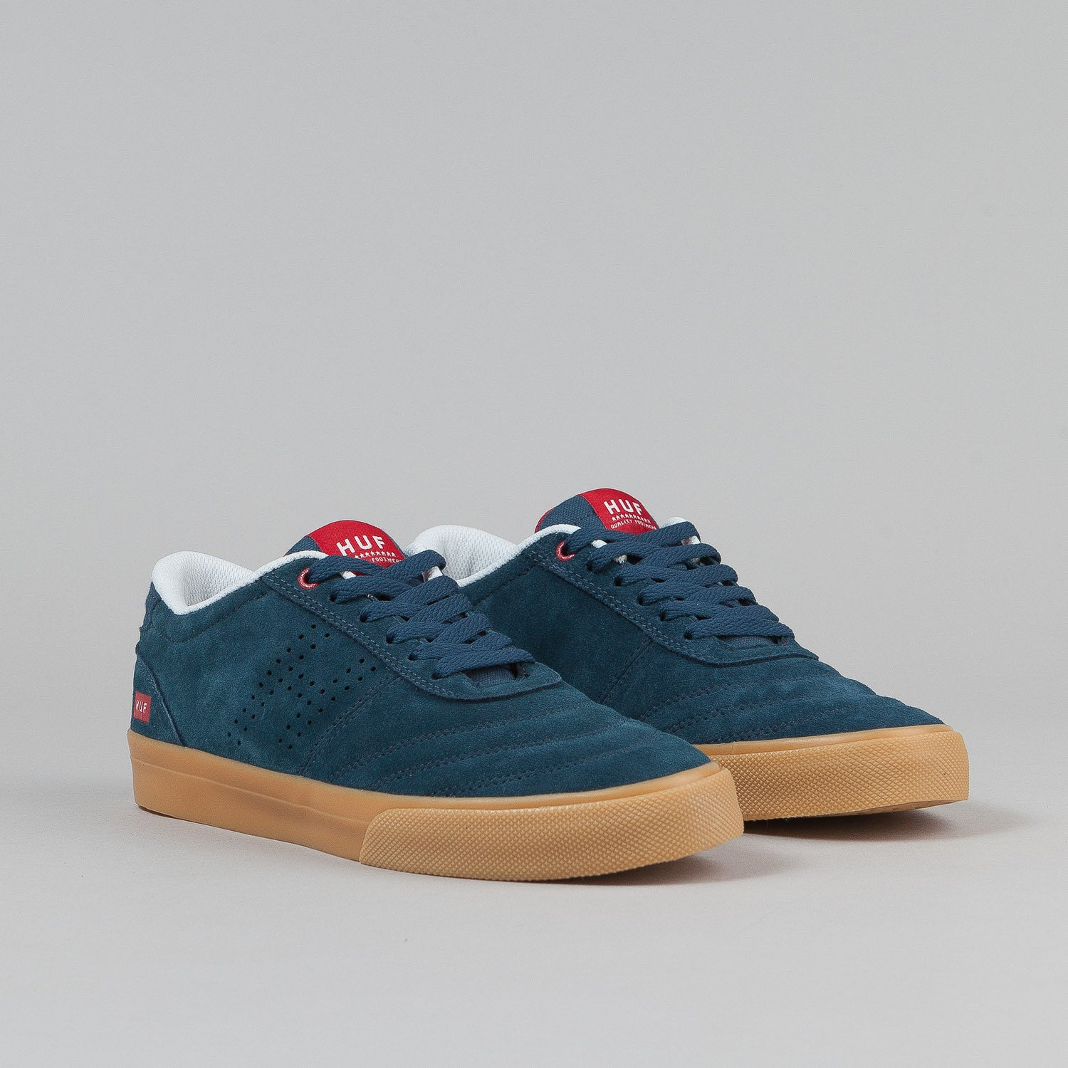 HUF Galaxy Shoes - Dark Navy / Gum