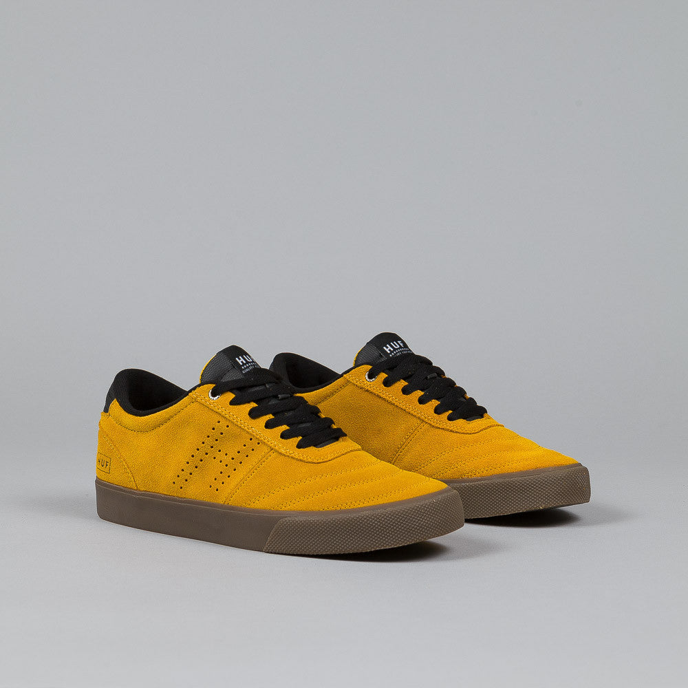HUF Galaxy Shoes Mustard / Black