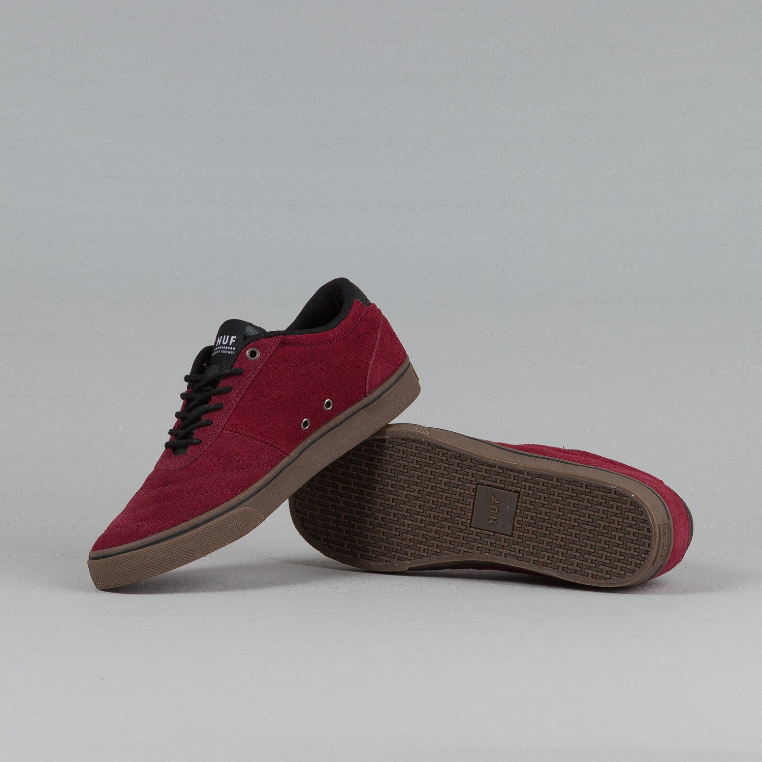 HUF Galaxy Shoes Oxblood Red / Dark Gum
