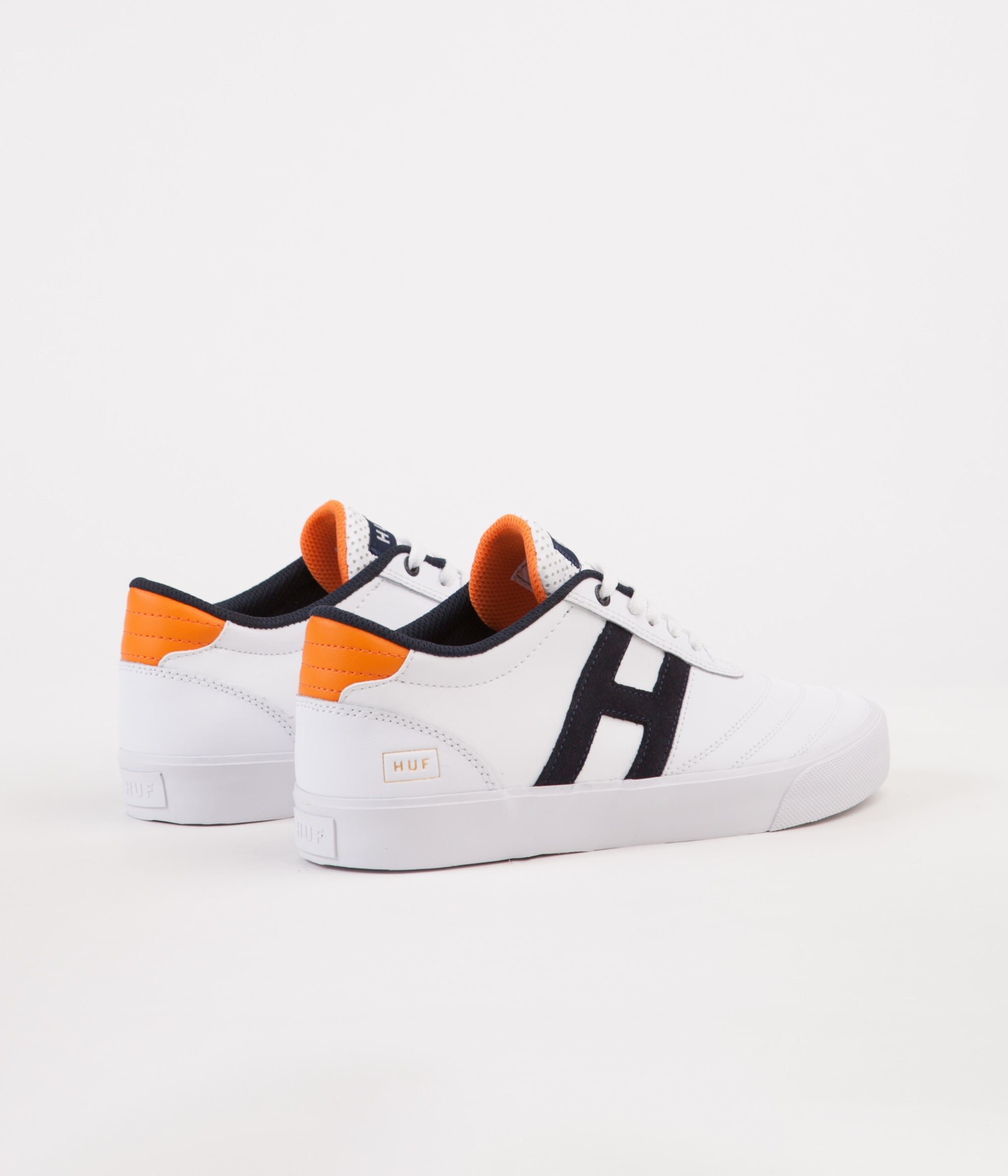 daa62e55ea ... HUF Galaxy Shoes - White   Orange   Navy ...