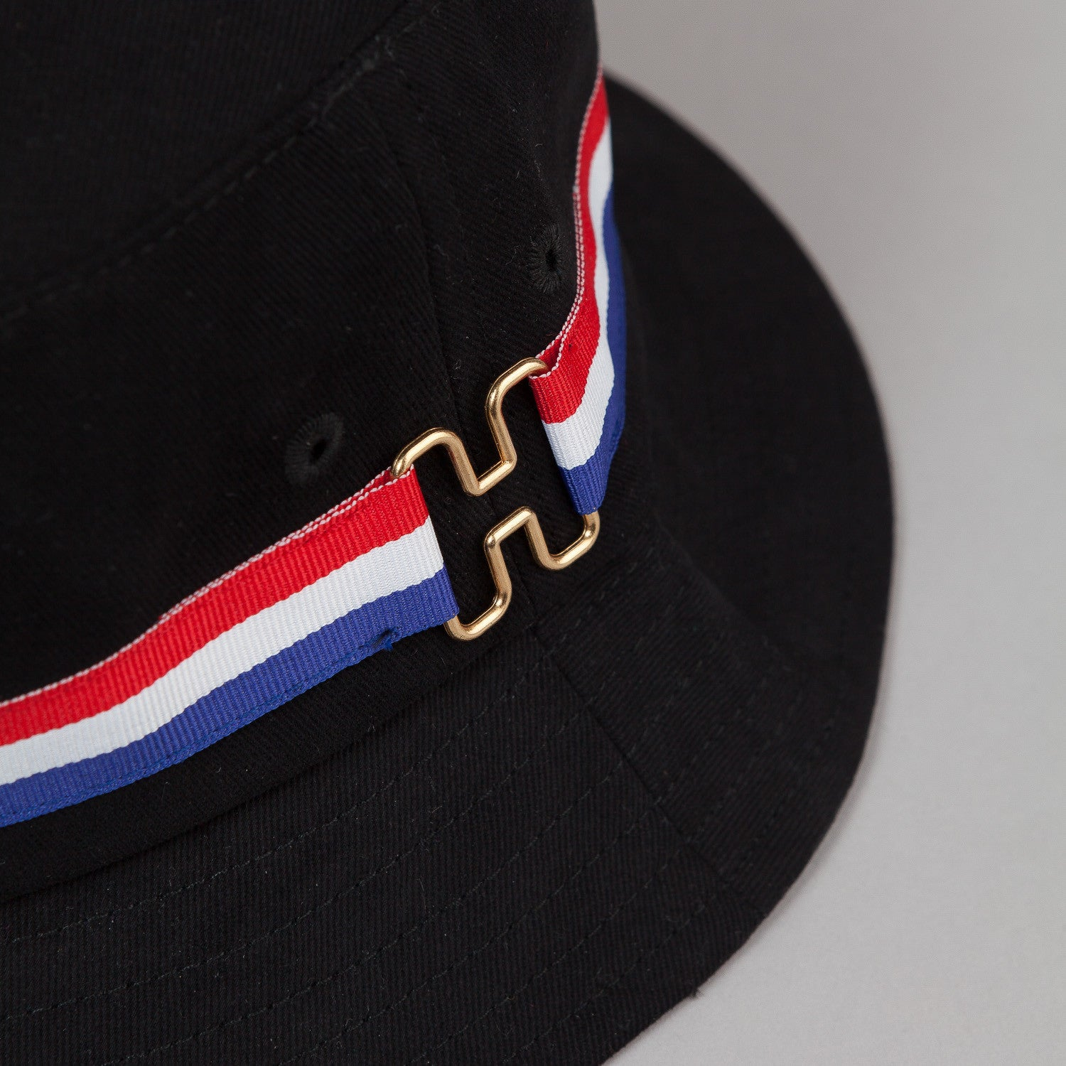 HUF H-Ring Bucket Hat - Black