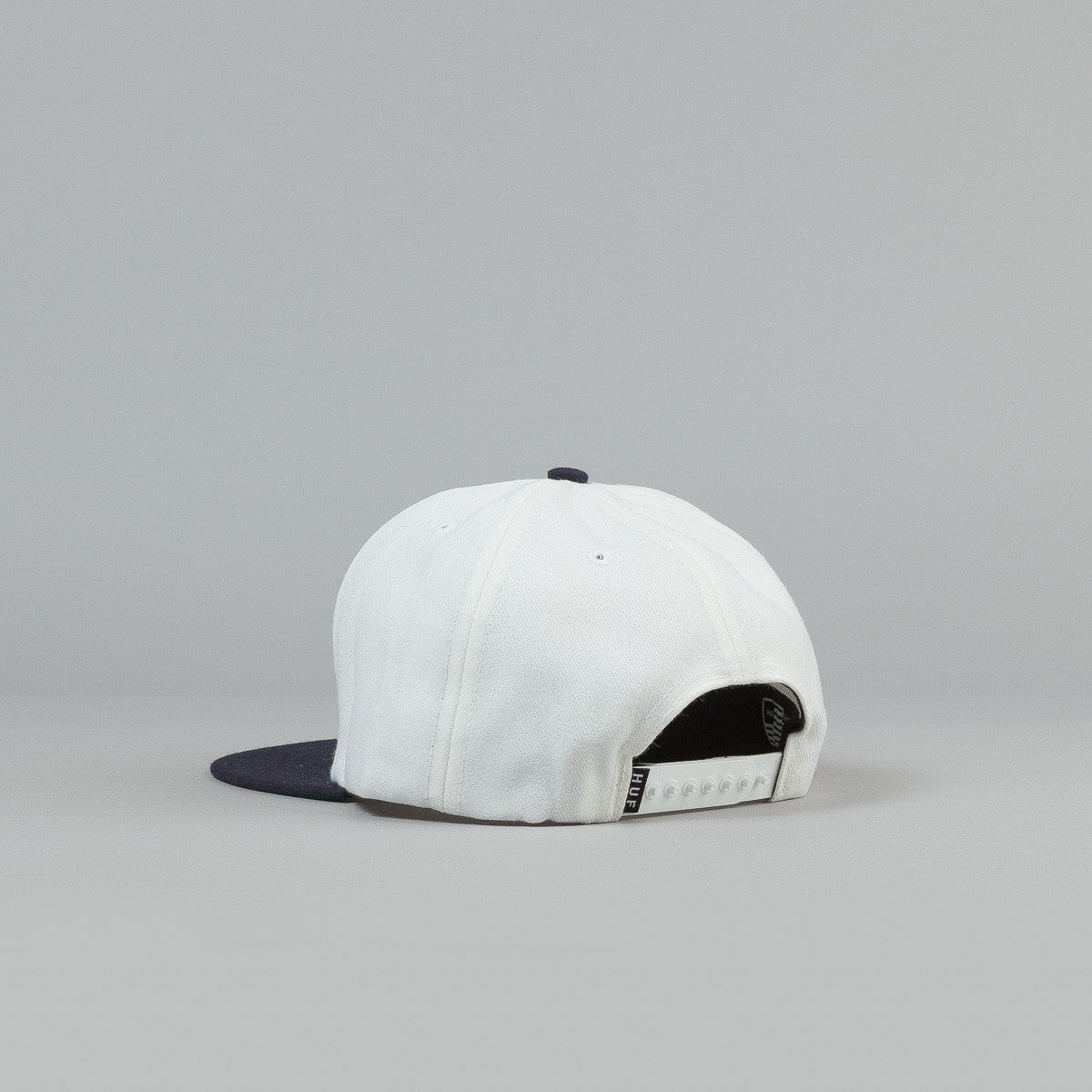 HUF H-Town Classic H Snapback Cap White