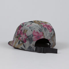 HUF Hawaiian Oxford Volley Cap Black