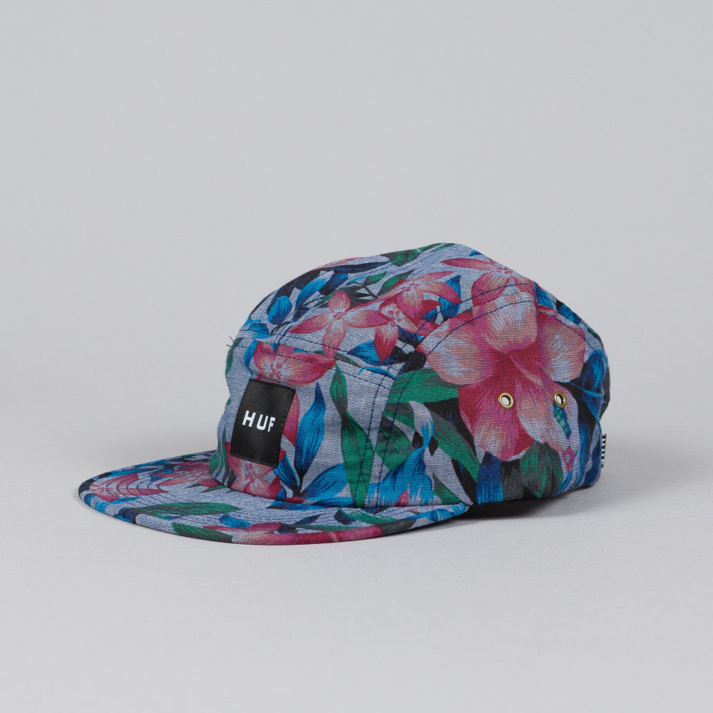 Huf Hawaiian Oxford Volley Cap Navy