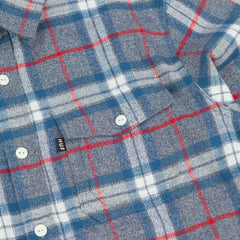 HUF Heavy Weight Flannel Long Sleeve Shirt - Grey