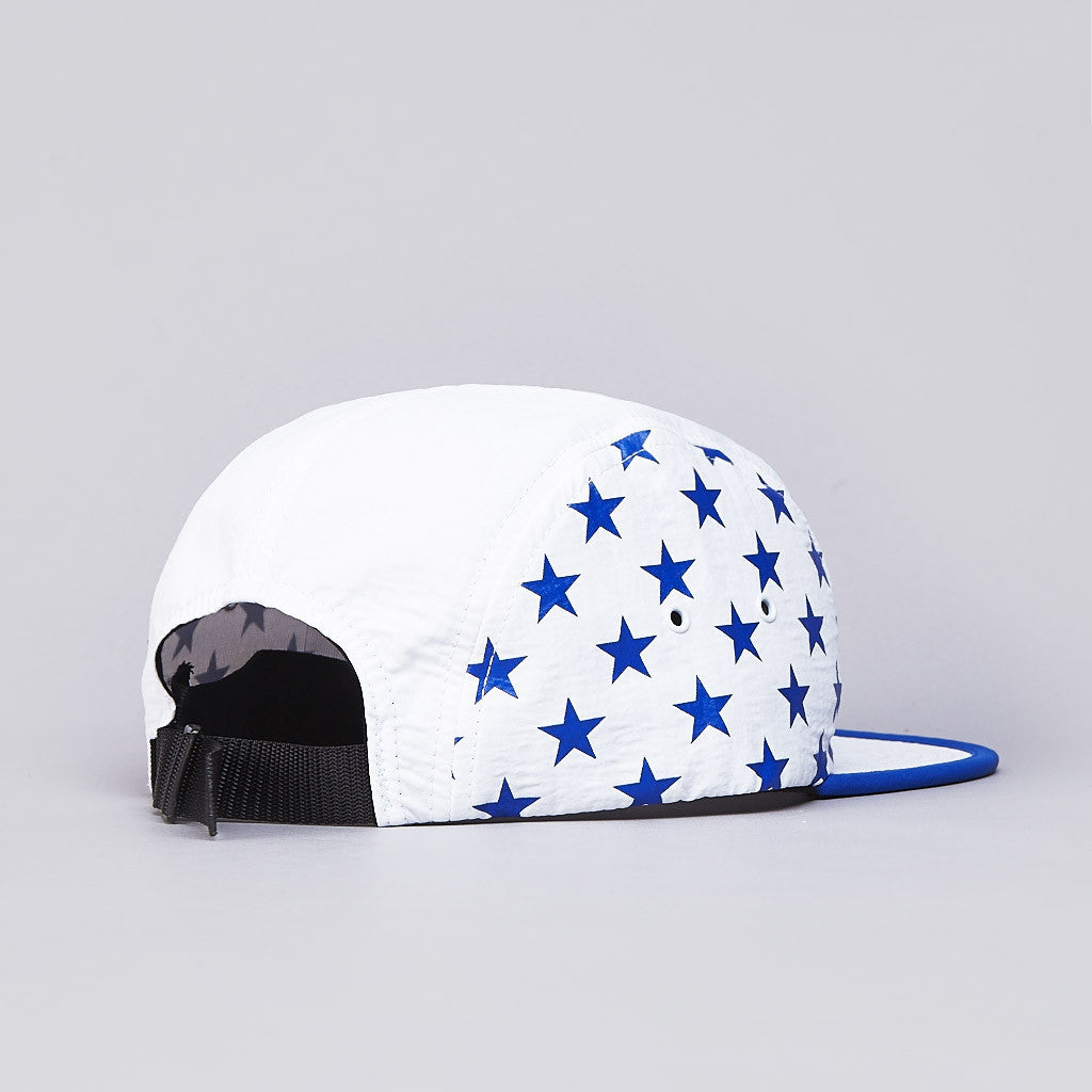 HUF Hell Track Volley Cap White / Blue