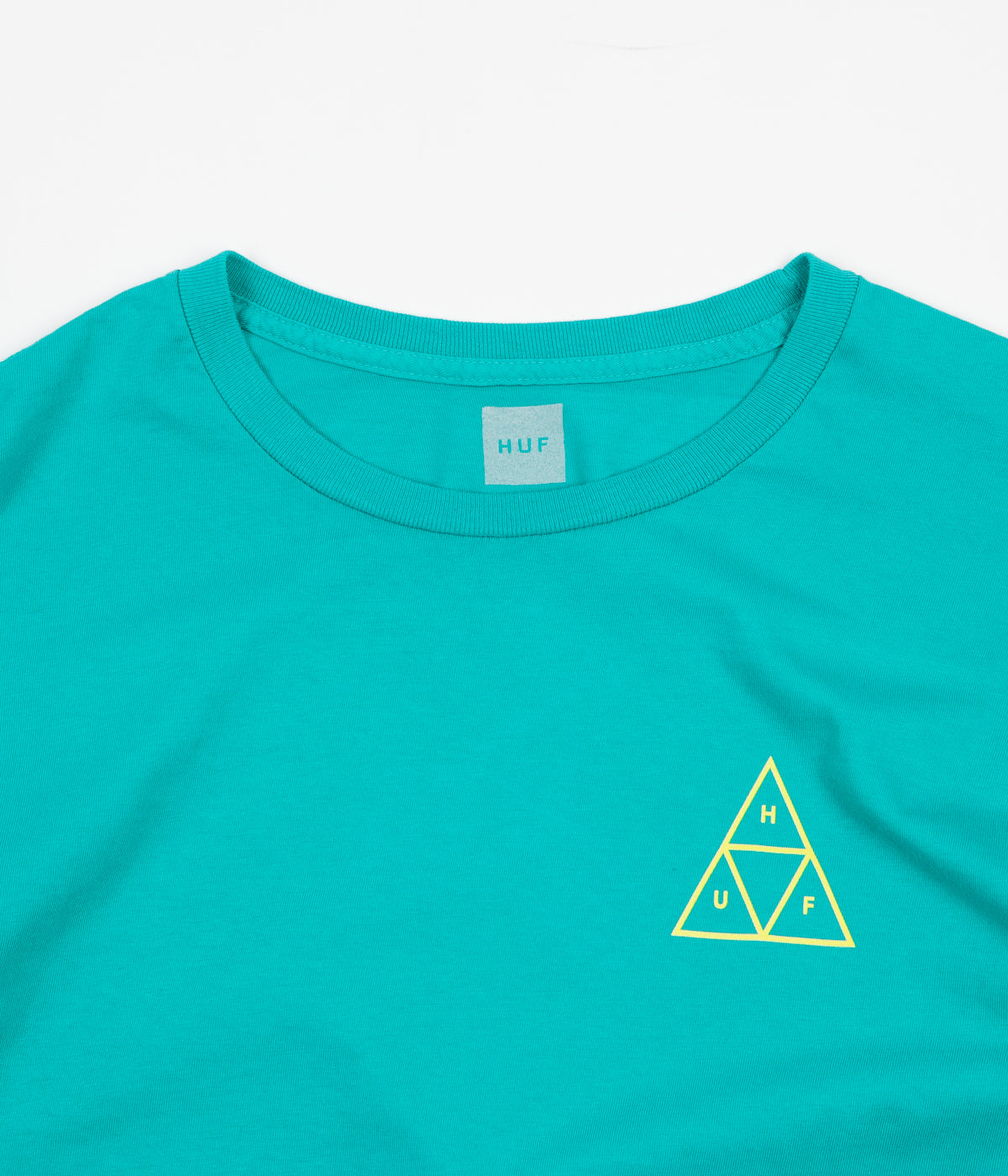 HUF High Tide Triangle T-Shirt - Tropical Green