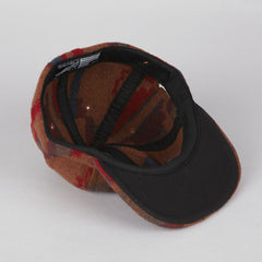 HUF Honcho Flap Hat Brown