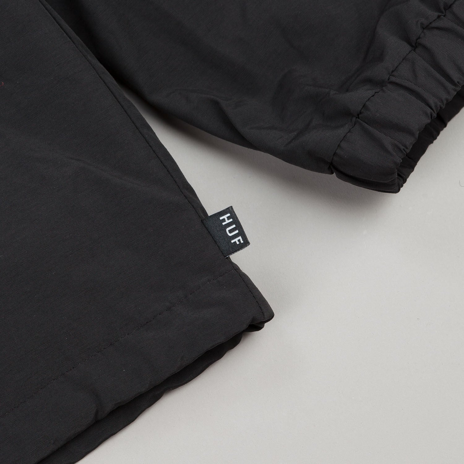 HUF Hooded Coaches Jacket - Black