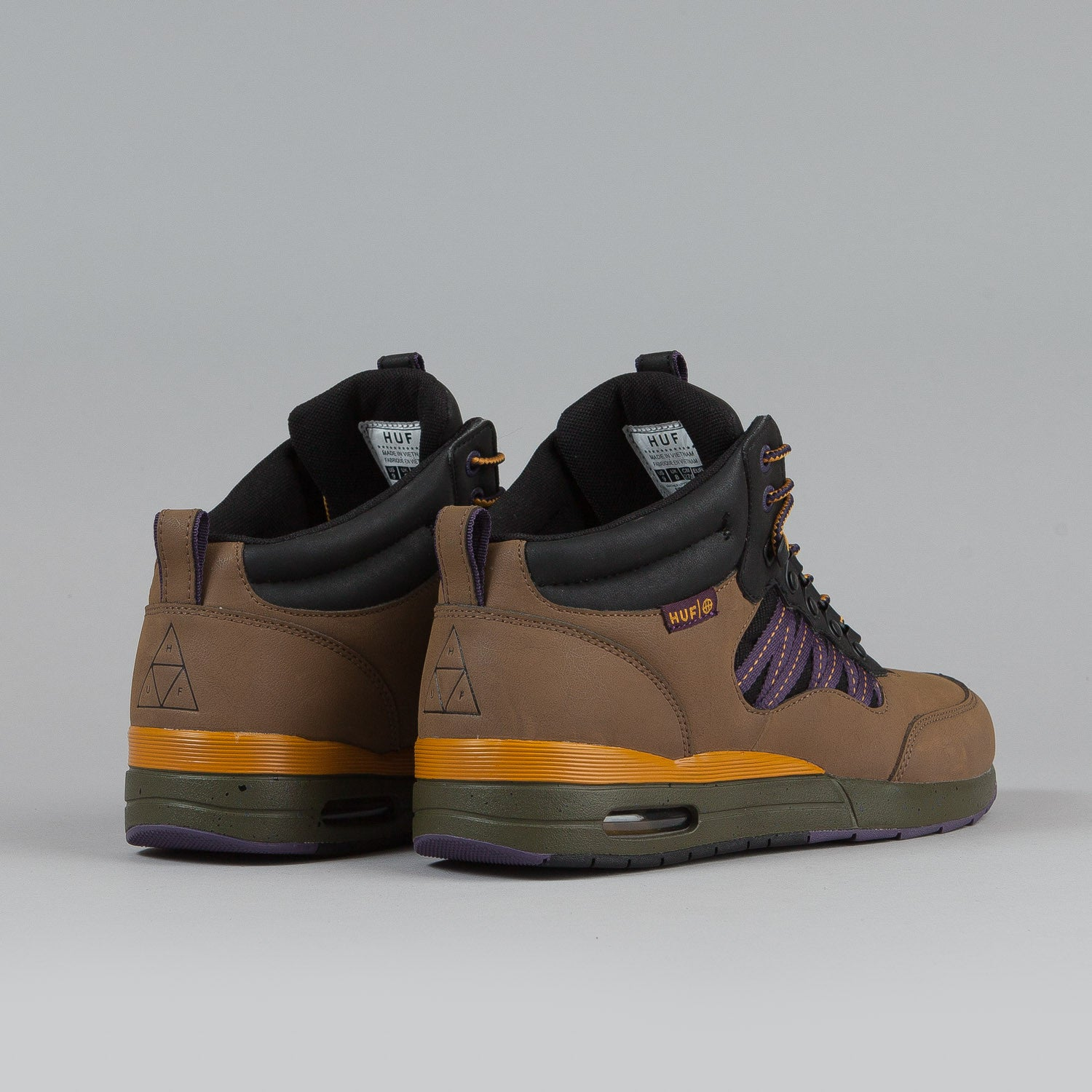 HUF HR-1 Shoes Chestnut / Purple