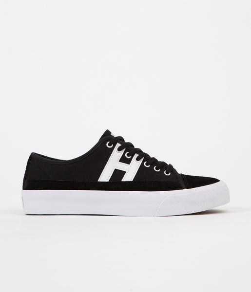 HUF Hupper 2 Lo Shoes - Black / White