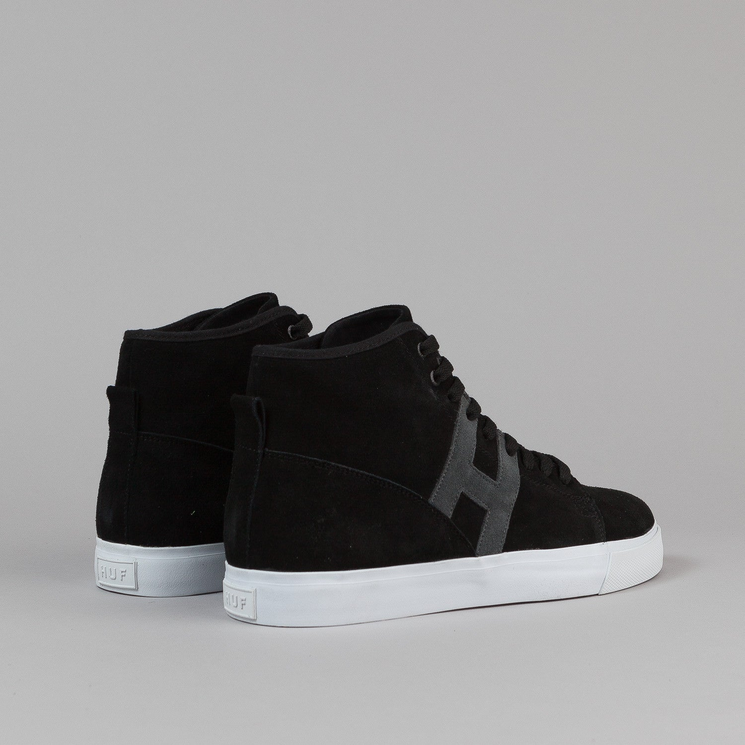 HUF Hupper Shoes - Black / Grey