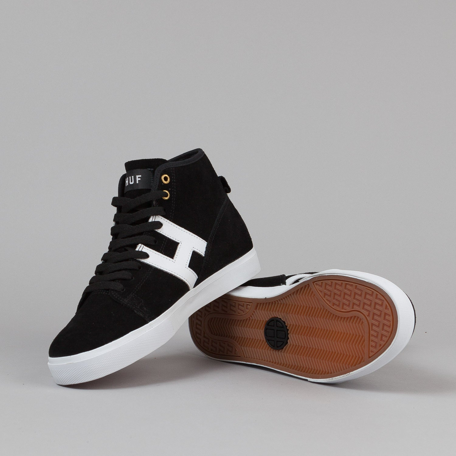 HUF Hupper Shoes - Black / White