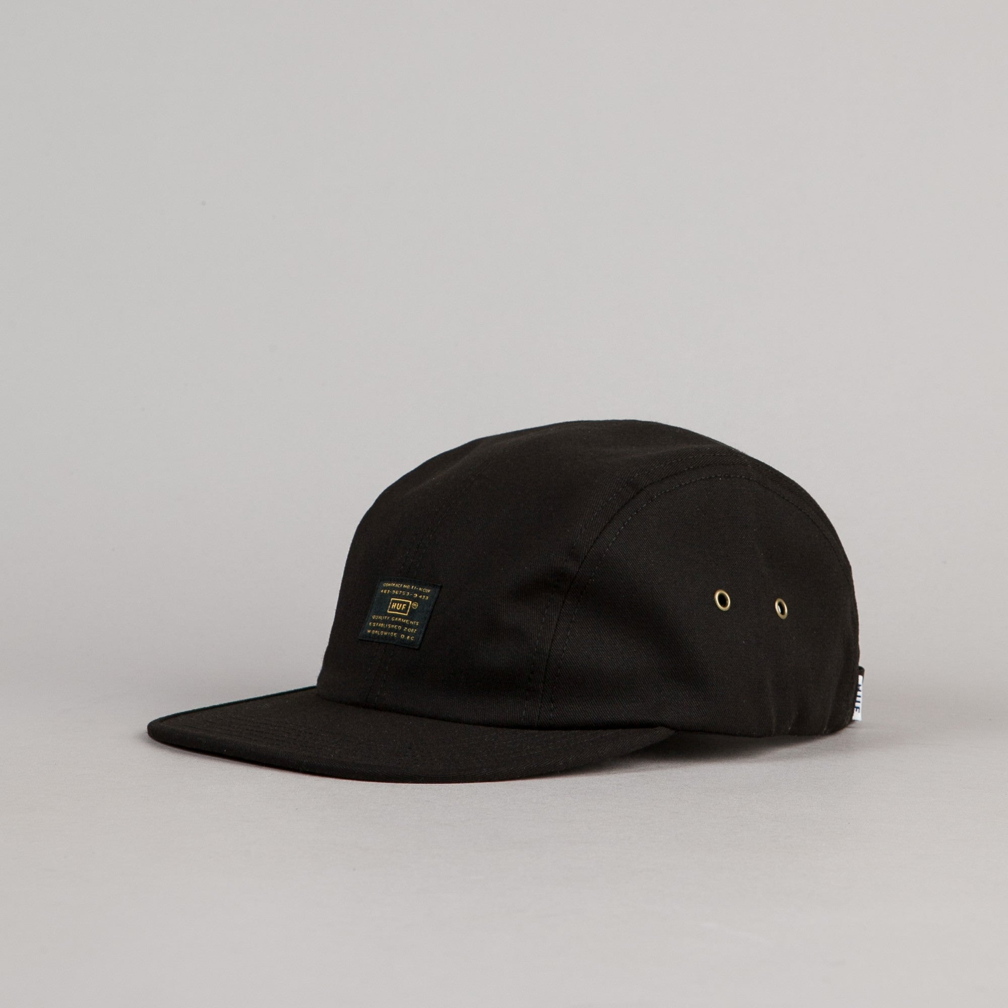 HUF Issue 4 Panel Volley Cap - Black