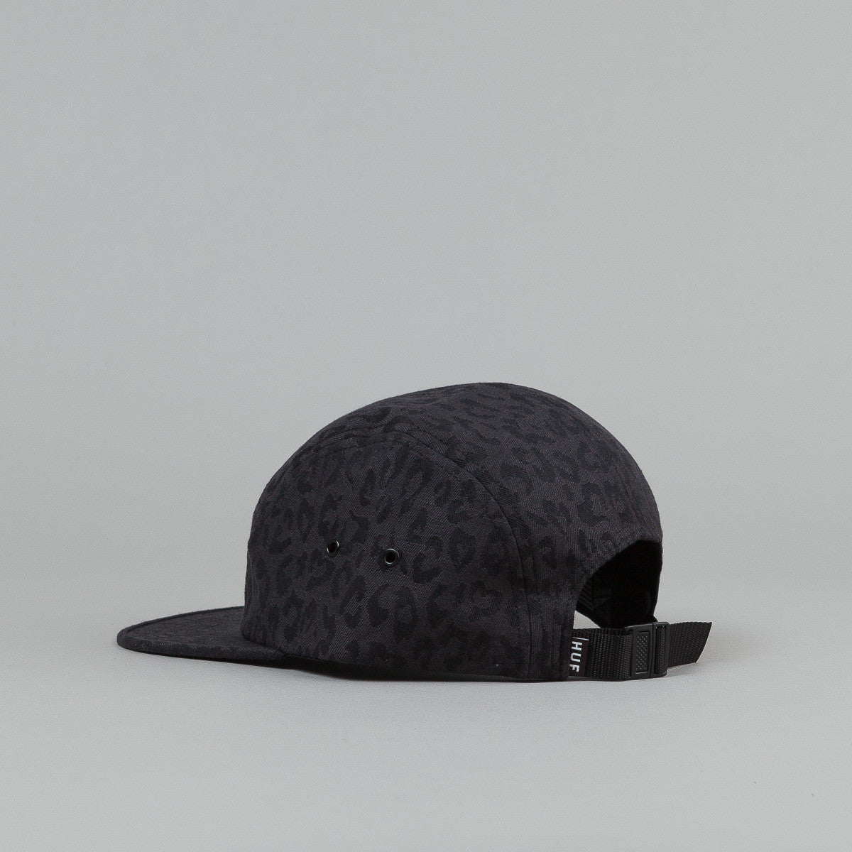 HUF Jacquard Leopard Volley Cap - Black