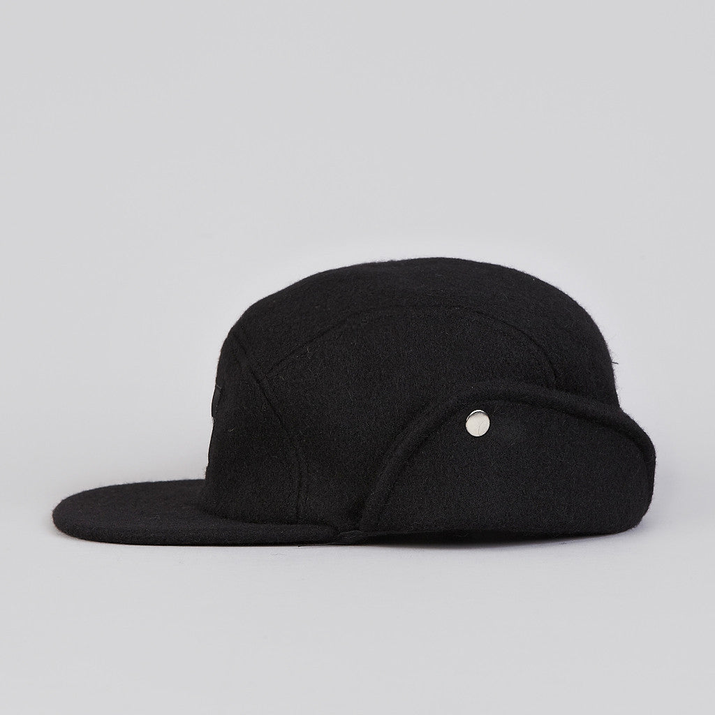 HUF Junction Down Flap Cap Black
