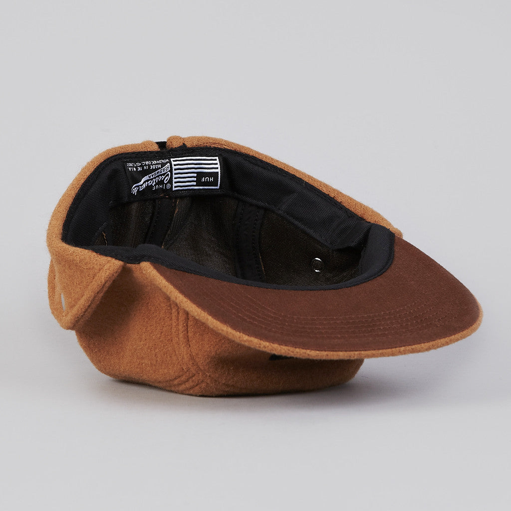 HUF Junction Down Flap 5 Panel Cap Camel