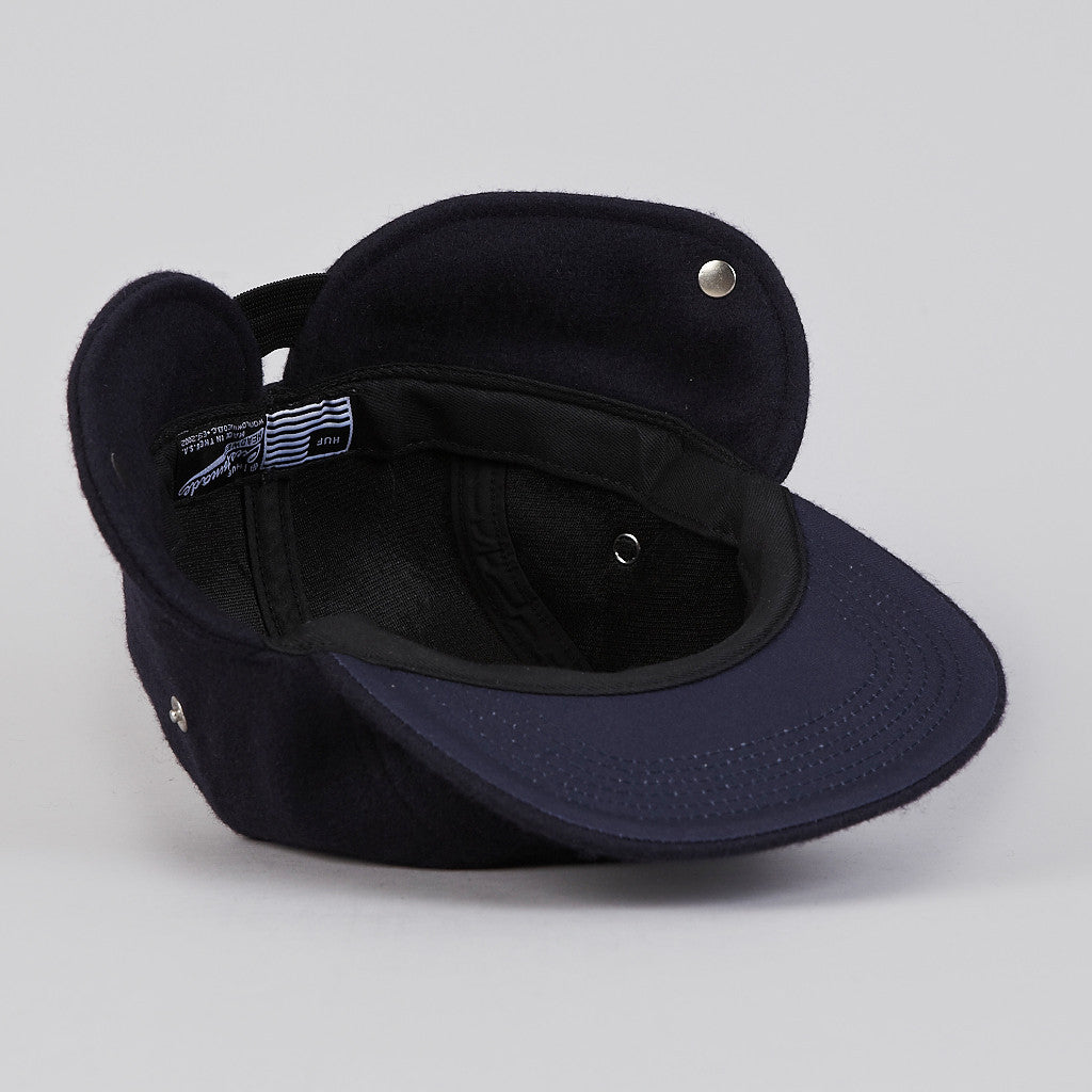 HUF Junction Down Flap Cap Navy