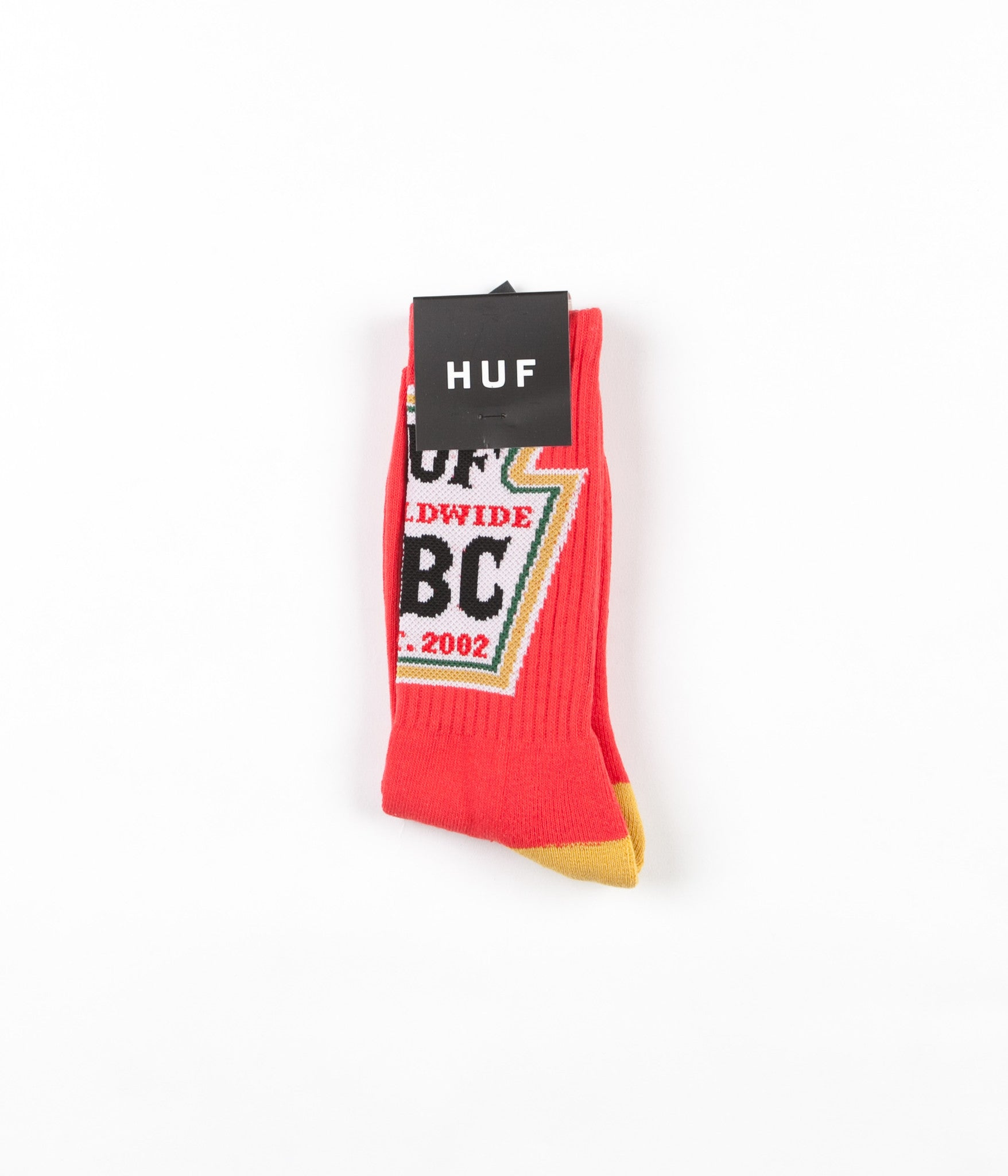 HUF Ketchup Crew Socks - Red
