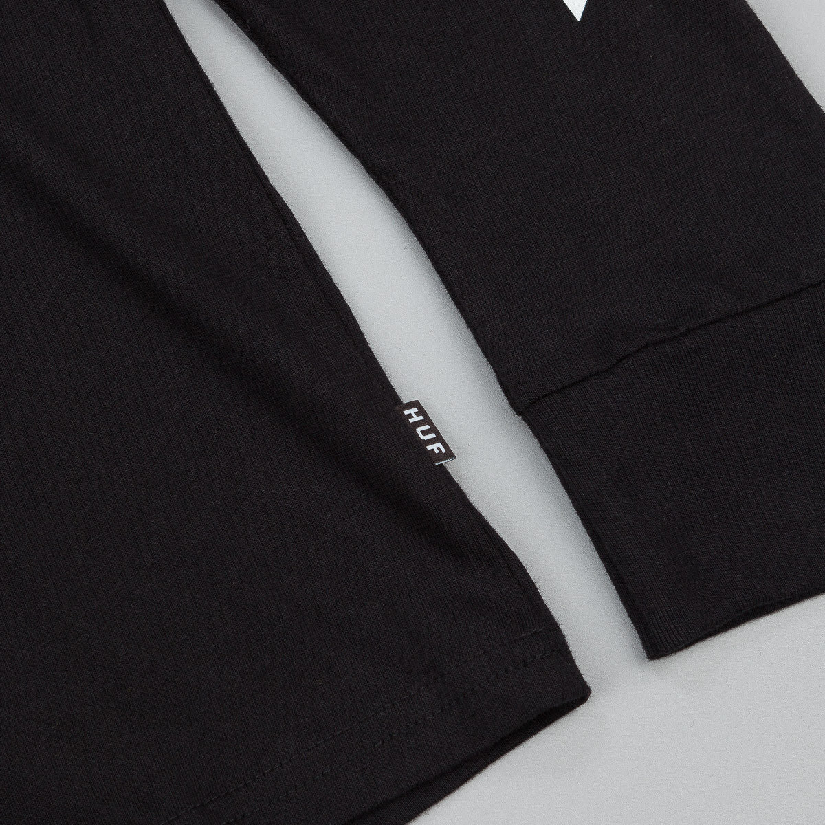 HUF Lager Long Sleeve T-Shirt - Black