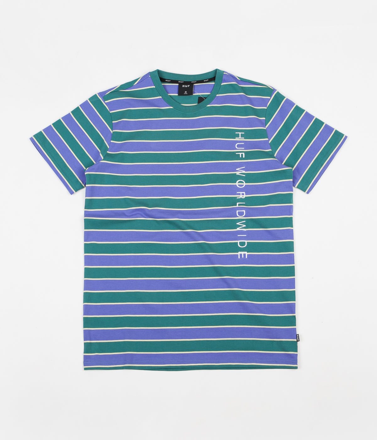 HUF Lexington Knit T-Shirt - Blue Iris