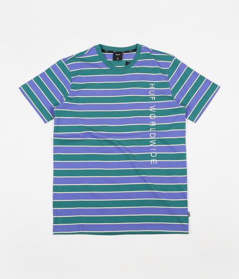 6c2fe426c1 HUF Lexington Knit T-Shirt - Blue Iris