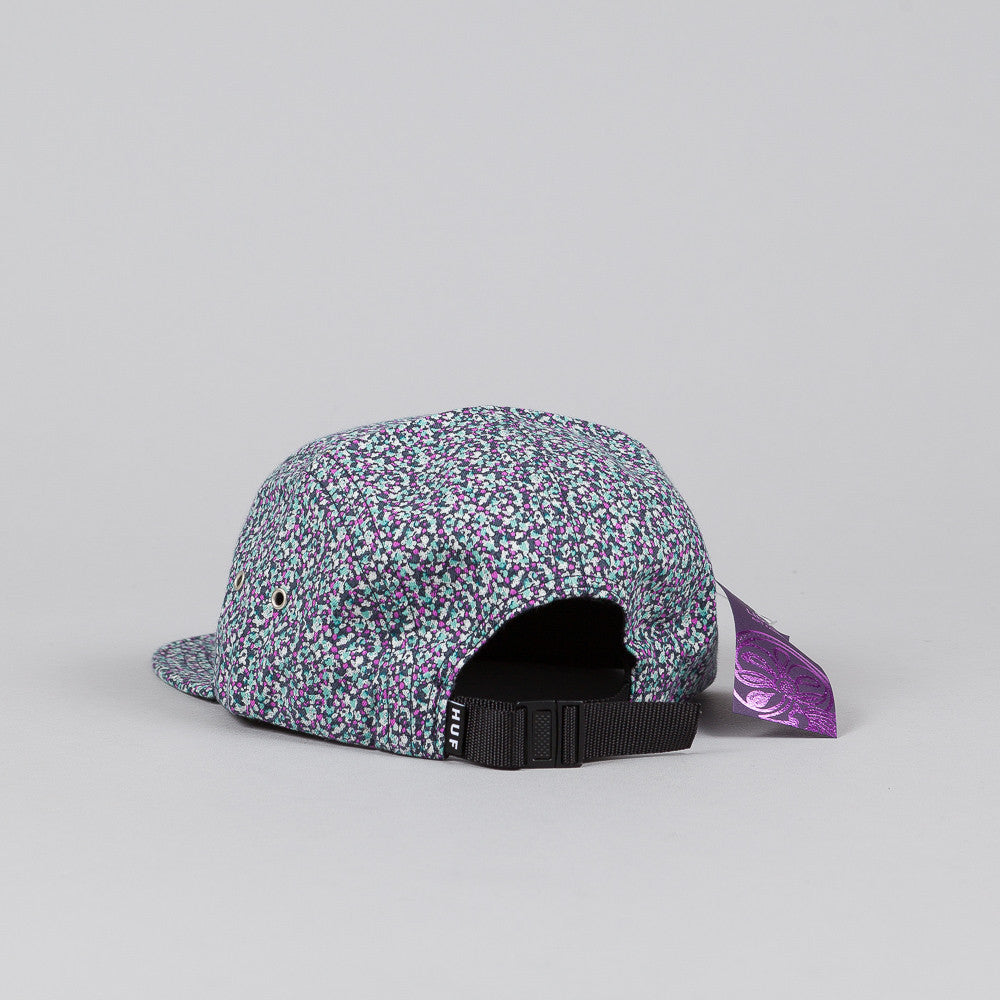 HUF X Liberty Pepper Volley Cap Navy / Jade
