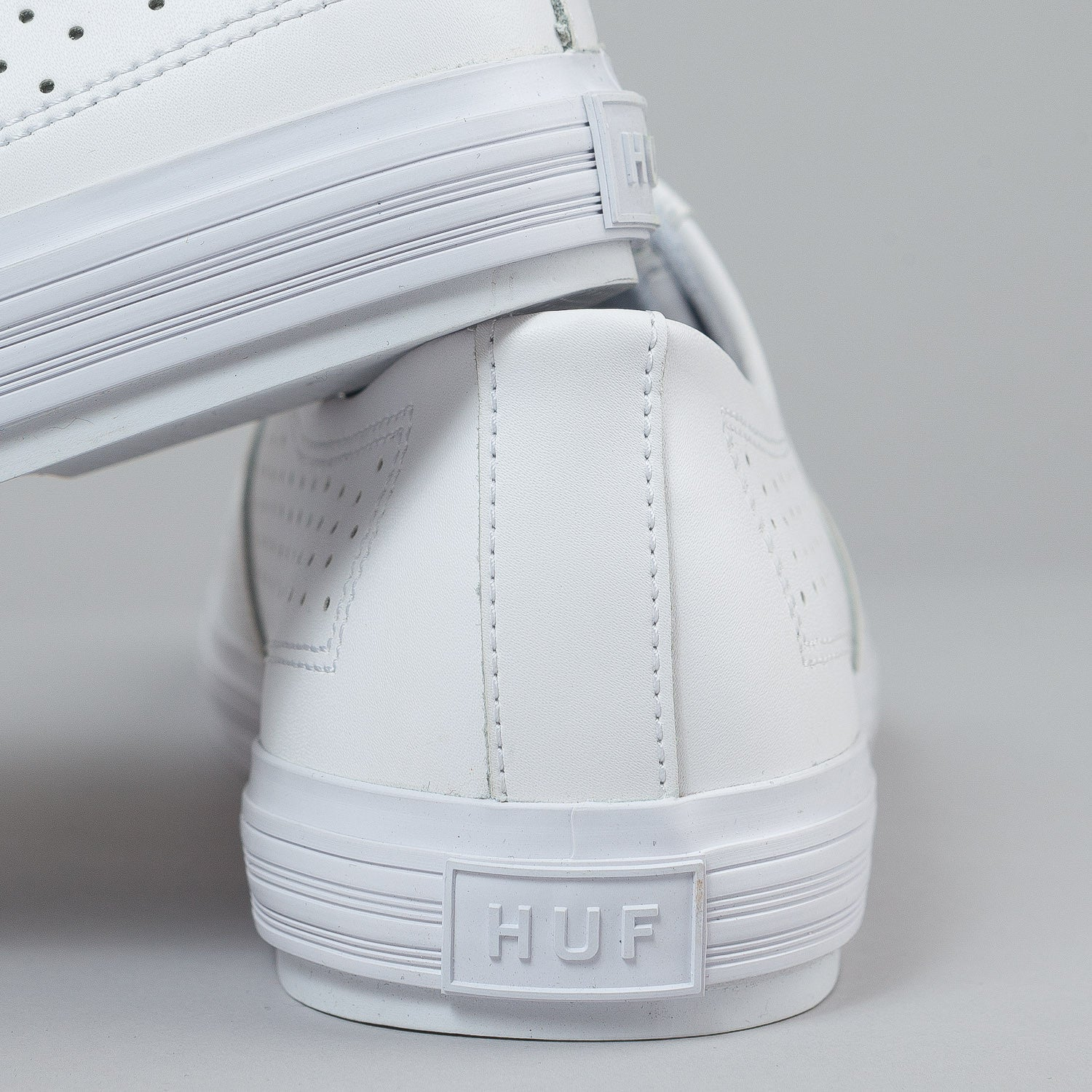 HUF Liberty Shoes - White Leather