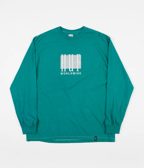 HUF Linear Long Sleeve T-Shirt - Deep Jungle