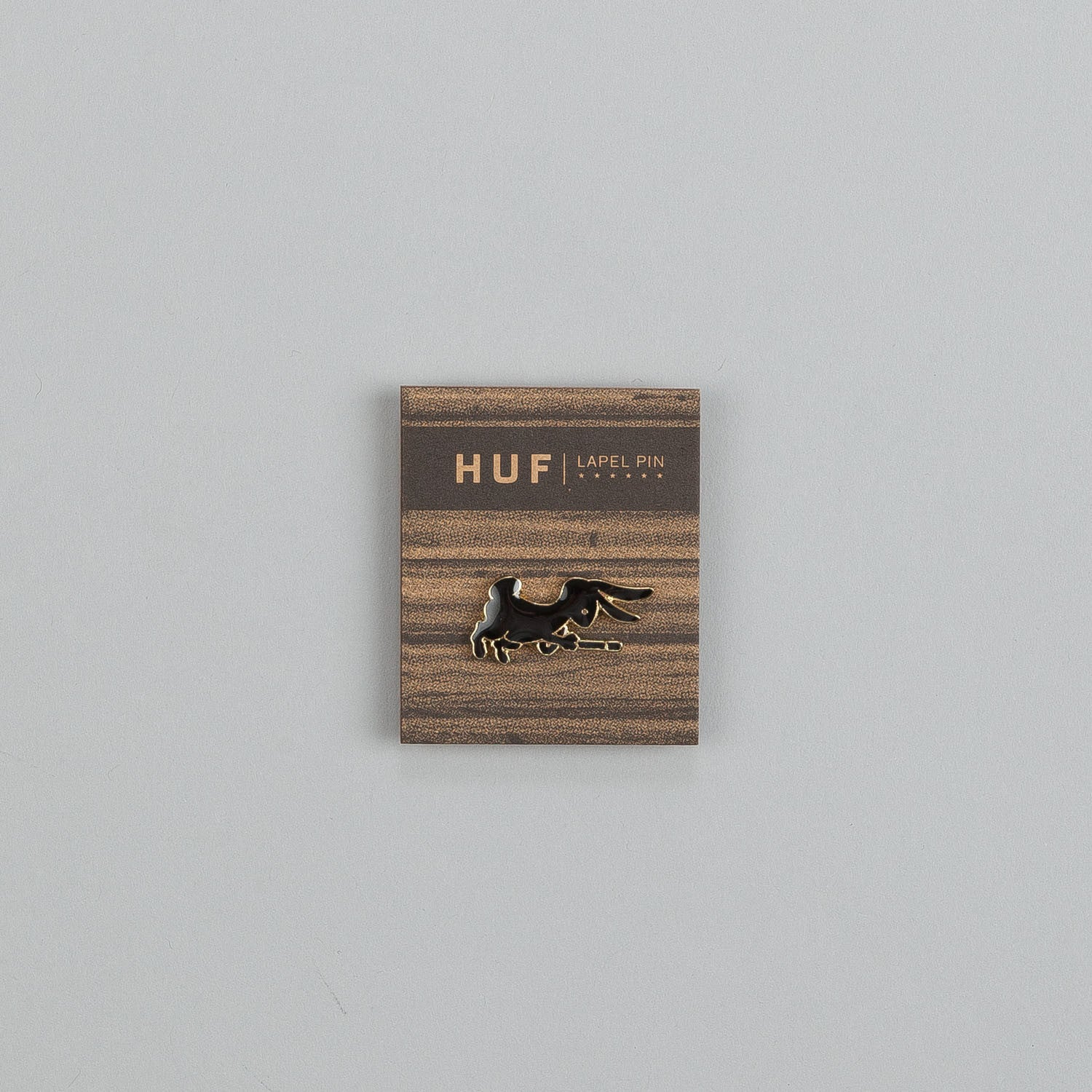 Huf Magic Pin Badge Black
