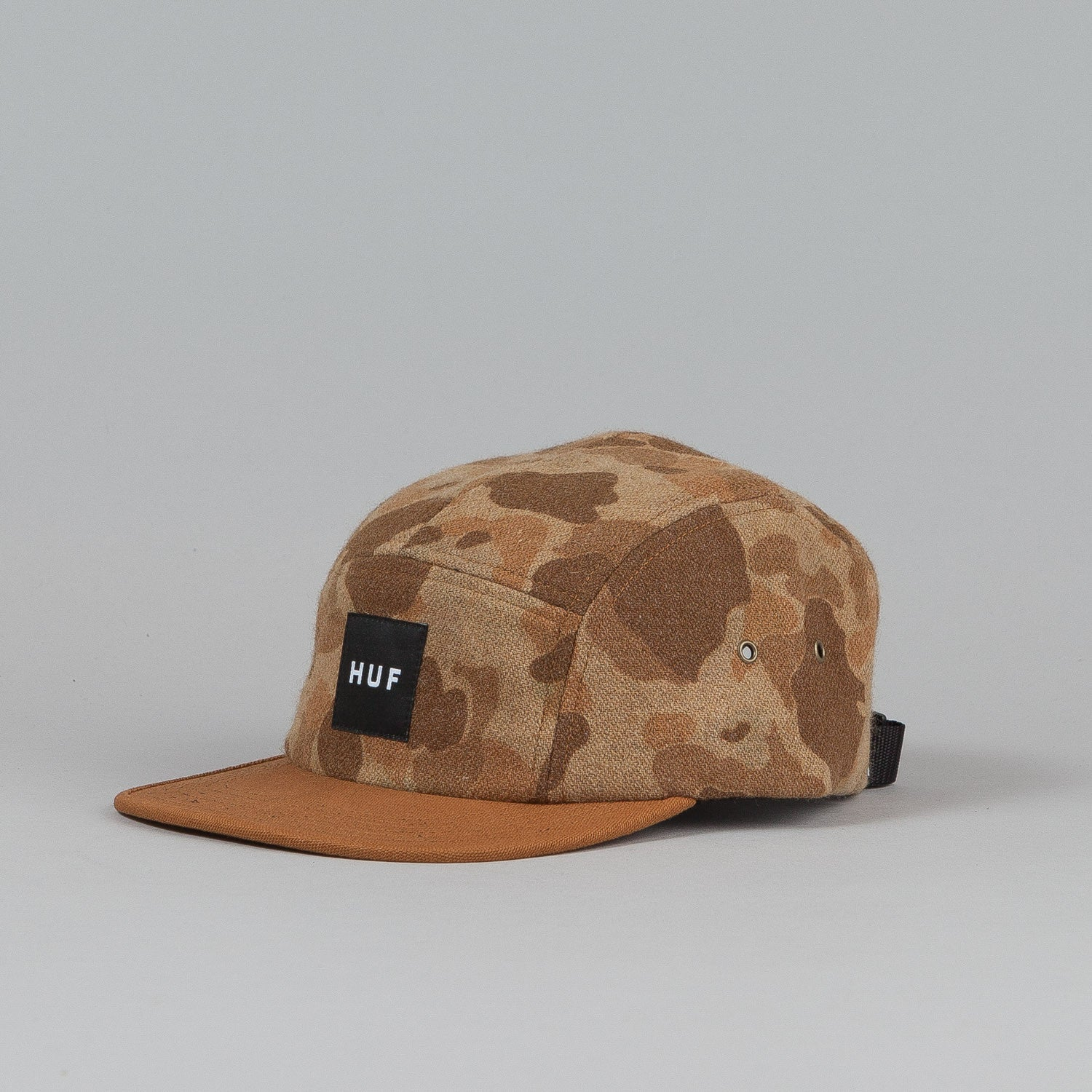 Huf Melton Camo Volley Cap Brown