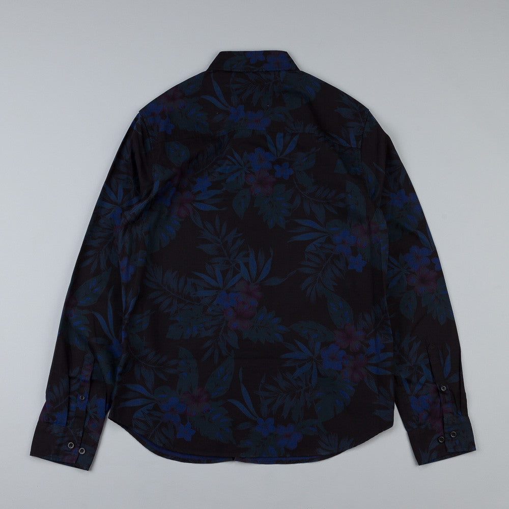 HUF Midnight Floral L/S Woven Shirt Midnight Floral
