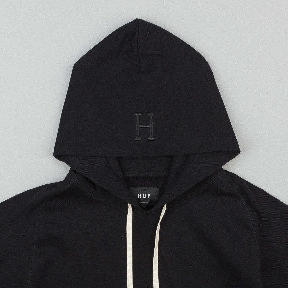 HUF Mil Spec Cadet Hooded Sweatshirt - Black