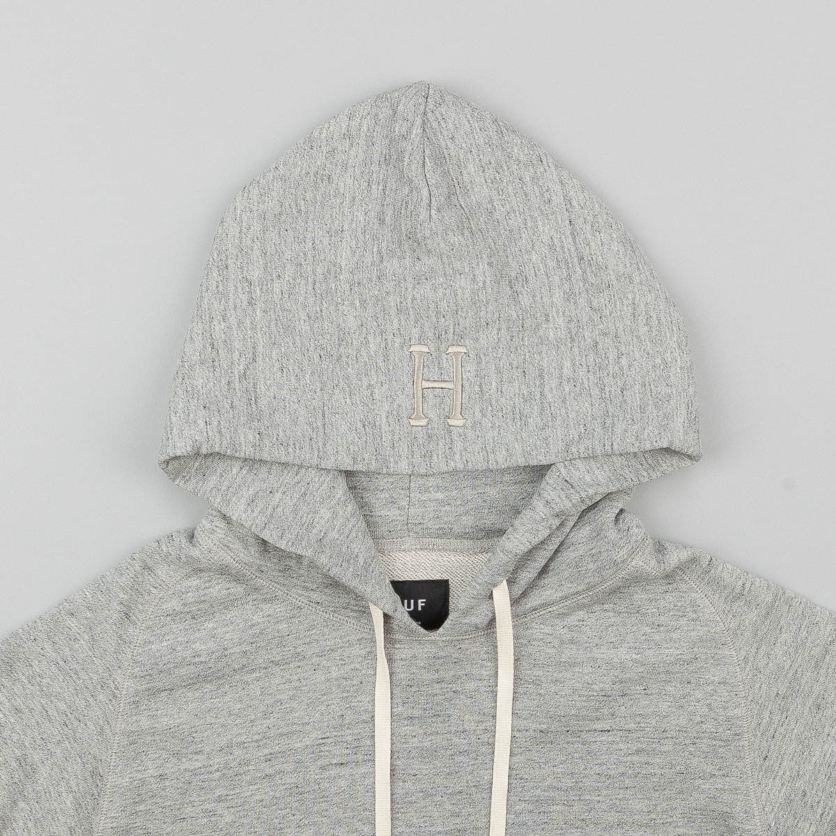 HUF Mil Spec Cadet Hooded Sweatshirt - Heather Grey