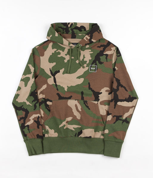 HUF Milton Hooded Sweatshirt - Woodland