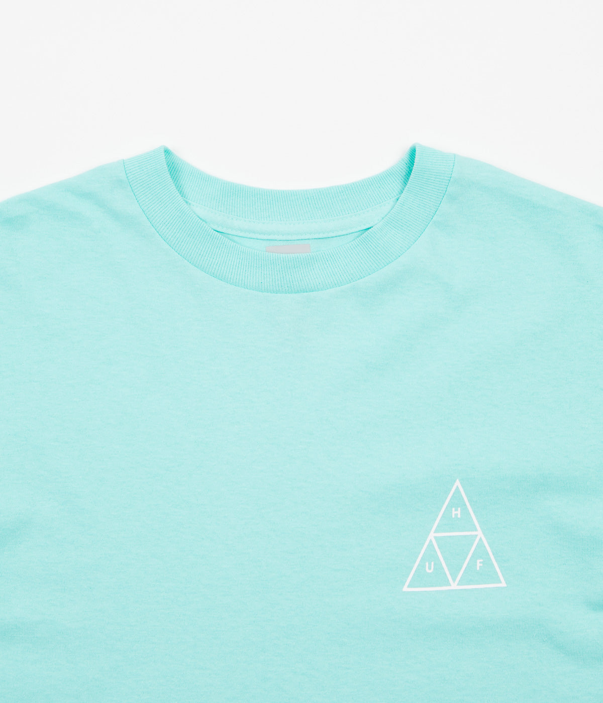 HUF Multi Triple Triangle Long Sleeve T-Shirt - Mint