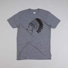 HUF Native Chick T Shirt Grey Heather