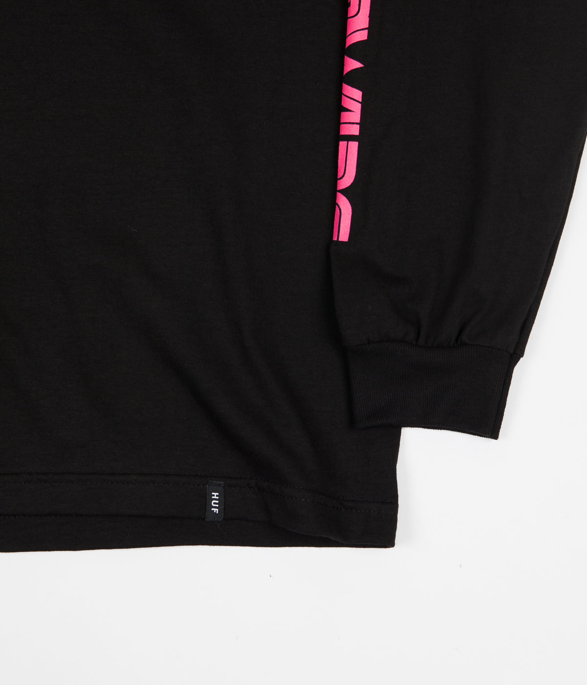 HUF Neo TT Long Sleeve T-Shirt - Black