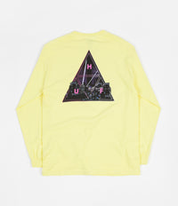 HUF Neo TT Long Sleeve T-Shirt - Super Lemon