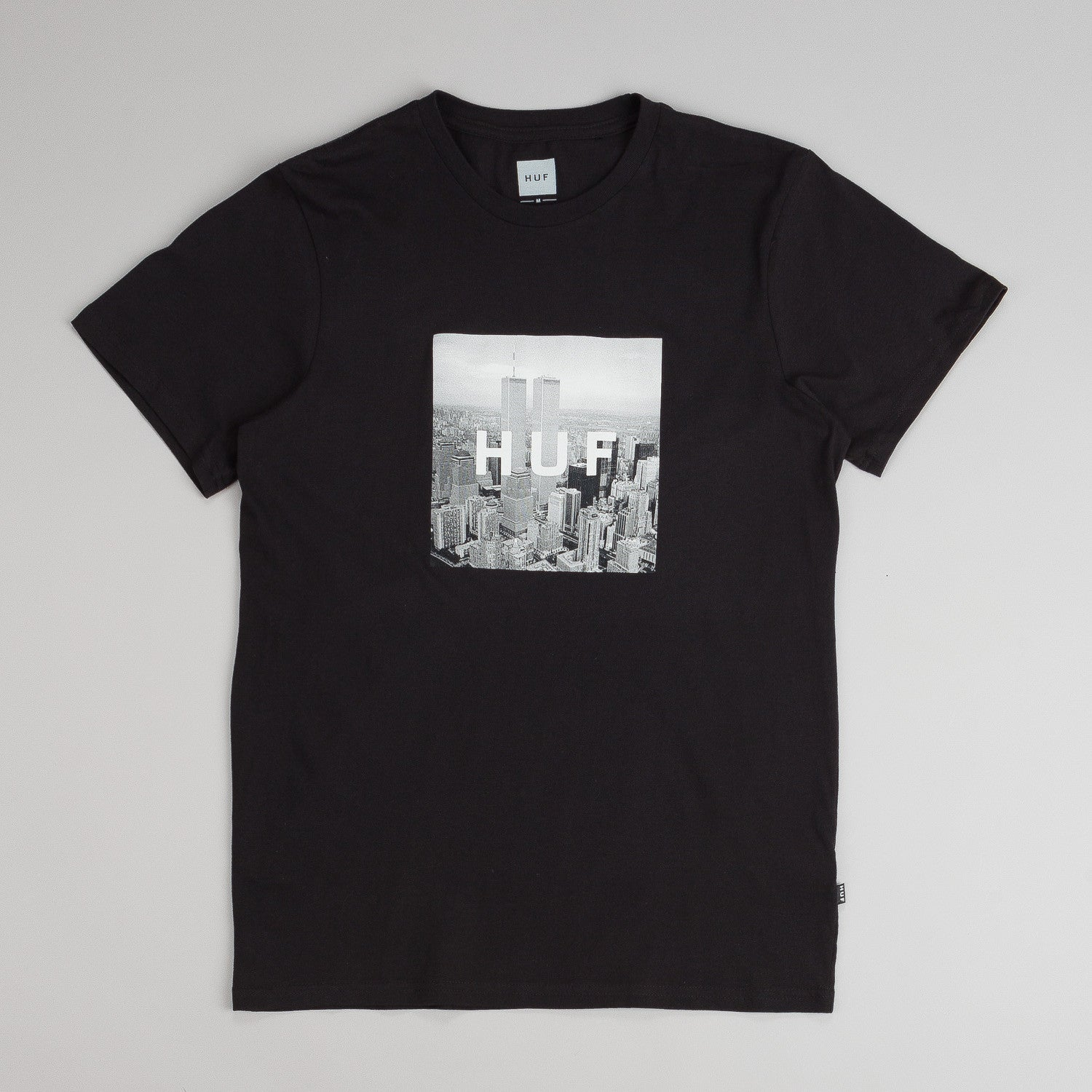 Huf New York Box Logo T-Shirt